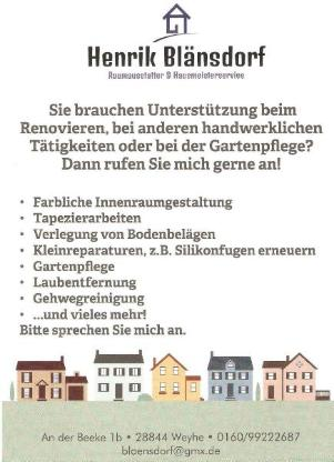 Raumausstatter & Hausmeisterservice - Weyhe