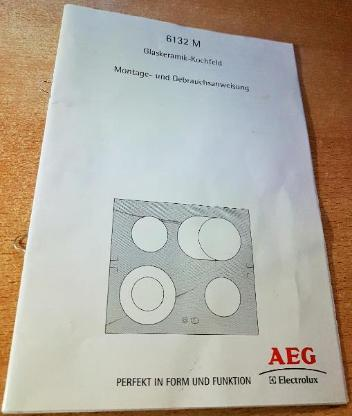 AEG Electrolux 61302 MF-1-n Glaskeramik-Kochfeld Autark 55AAD55ZO - Verden (Aller)