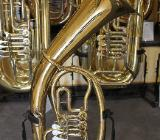 Melton Spezial Tenorhorn in Bb. Messing lackiert inkl. Koffer
