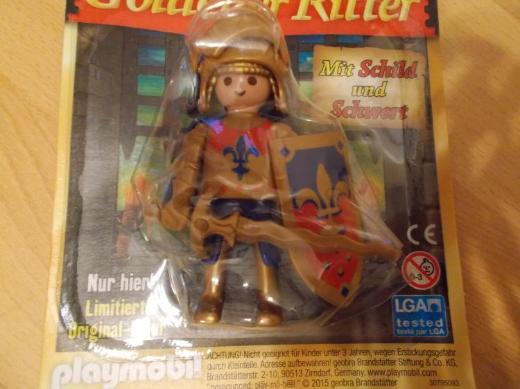 "Playmobil "" Goldener Ritter "" Limited Edition NEU ! - Edewecht"