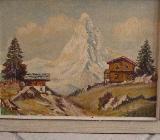 Antike, handgemalte Bilder - Weyhe