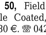 Fernglas 7 × 50, Field 7. -