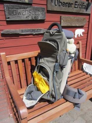 Vaude Kraxe - Baby-/Kleinkindtrage zum Wandern - Cuxhaven