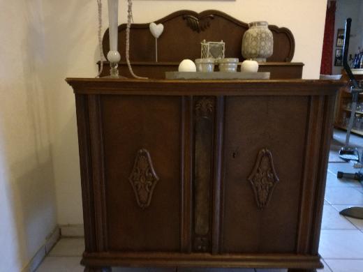 Kommode / Kredenz Mooreiche Antik um 1880 zu verkaufen - Visbek