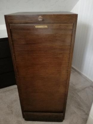 Sehr schöner Rollschrank / Aktenschrank Art Deco Sehr guter Zustand - Visbek