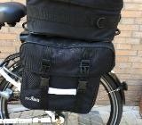Fahrrad-Packtaschenset PEGASUS, schwarz, neu, original verpackt,