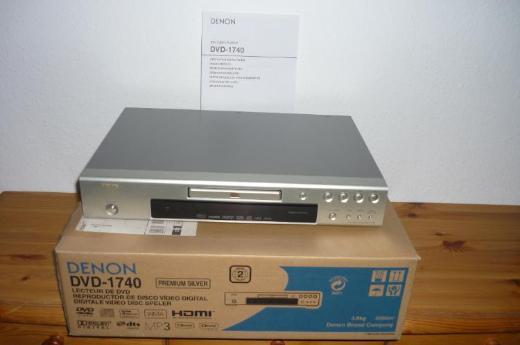 DENON DVD-1740 (silber);  DVD und CD - Bremen