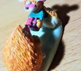"""Diddl Sammelfigur Nr. 60 """" Maus mit Igel """" 2,5 cm hoch - Verden (Aller)"""