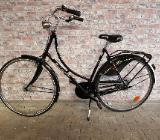 """Simplex Hollandrad schwarz 28"""" 55cm 7-Gang Edelstahl - Friesoythe"""
