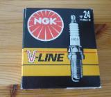 4 NGK Zündkerze V-LINE 24 BKURGET-10 (Audi, Seat, Skoda,VW) - Bremen