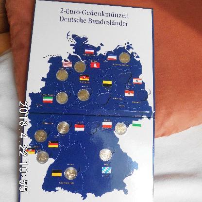 Suche Deutsche 2 Euro Gedenkmünzen Zirkuliert - Bremen