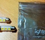 2 x Leuchtmittel Lampe 3 LEDs Sockel Soffitte 0,5 W - Verden (Aller)