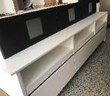 Grifflose Insel Küche Einbauküche Weiß Hochglanz nur 2490,-€ - Bremen