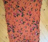 Frida Schal Tuch Orange Baumwolle 1,80 m x 80 cm - Bremen