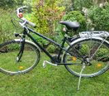Damenfahrrad, von Bike Manufaktur. ein Allrounder für Straße, Sand und Steine, 28er Gabel, 52 Rahmen – top - Bremen