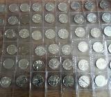 54 verschiedene 10,00 € Münzen. Silber - Bremen