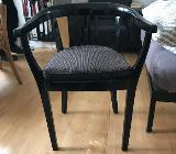Industrie Design 4 Stühle mit Armlehnen - Bremen