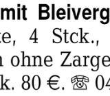 Zimmertüren mit Bleivergl - Delmenhorst Hasport