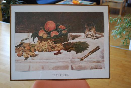 Edouard Manet Bild im Rahmen - Lilienthal