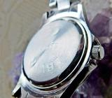 "Elegante ""Bicolor""-Edelstahl-Armbanduhr, Edelstahl-Gliederarmband, ungetragen - Neu - Diepholz"