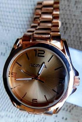 Edelstahl-Armbanduhr, Edelstahl-Gliederarmband, ungetragen aus Ex-Sammlung! - Diepholz