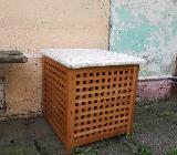 2 Wäscheboxen aus Holz