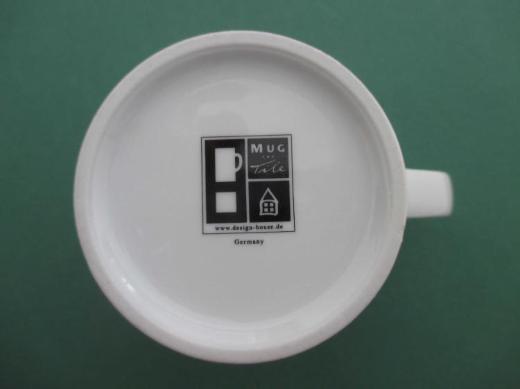 Design House Kaffeebecher, Motiv: enjoy coffee together; Kaffeepott, Mug, Becher, Henkelbecher, Pott; Porzellan. zu Gunsten Tierschutz - Achim
