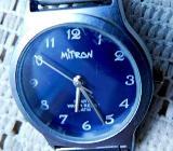 "Damen-Markenuhr ""MITRON"". Edelstahl, Milanaisearmband, Batterie neu - Zustand gut! - Diepholz"