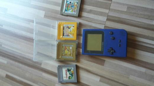 Nintendo GameBoy Pocket + Spiele voll funktionsfähig - Kirchlinteln