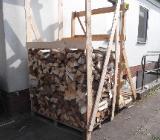 1 Raummeter Brennholz Kaminholz Mischholz Feuerholz ofenfertig - Stuhr