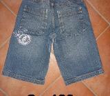 Paket: 2x Jeans Shorts / kurze Hosen Gr. 128 - Bremen