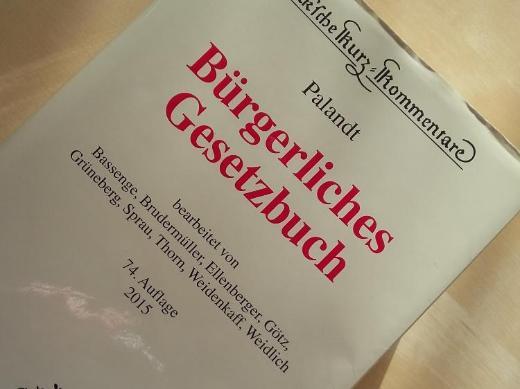 Palandt 74. Auflage - Bremen