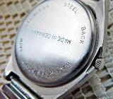 """Edelstahl-Damenuhr in """"Reiter-Optik"""", Flexo-Armband, Zustand sehr gut! - Diepholz"""