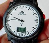 "Deutsche ""Meister Anker"" FUNK-Marken-Armbanduhr, Leder-Armband, neue Batterie - Zustand neuwertig! - Diepholz"