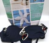 Tasche,Bikini Bag,Kosmetiktasche,Badetasche,Schwimmtasche,Lunchbag,Wachstuchtasche,Bag,Tasche - Bremen