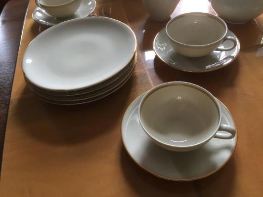 Marken Kaffeegeschirr-Set aus den 50er Jahren - Bremen