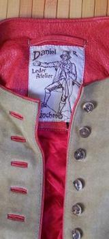 Trachtenjacke Damen, Gr. 40, Leder, Atelier Daniel R. - Bremen