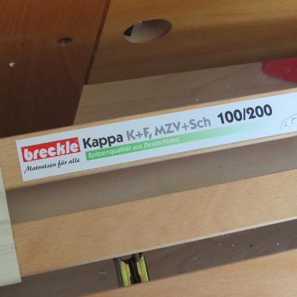 Breckle Kappa Lattenrost verstellbar - Bremen