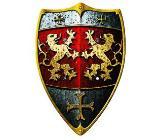 Ritterschild Löwe aus Holz für Kinder - NEUWARE - Scheeßel