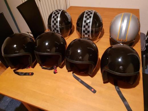 Motorradhelm Auswahl Größe S bis XXL