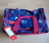 4 You Schulrucksack Set 3 Teilig JAMPACK Squares Blue / Red Neu ! - Edewecht