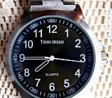 Edelstahl-Marken-Armbanduhr, noch ungetragen/neu aus Ex-Uhrensammlung! - Diepholz
