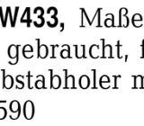 Miele Deluxe W433, Maße: -