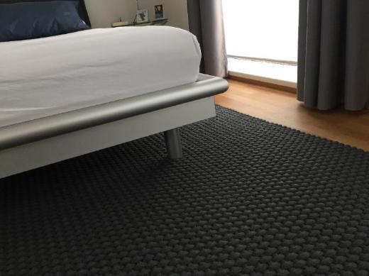 Doppelbett mit Kopfteil in Buche - Bremen