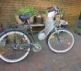 Nostalgie-Damenrad aus den 60/70ern, Winora 54cm RH, grün, 100% ok - Bremen