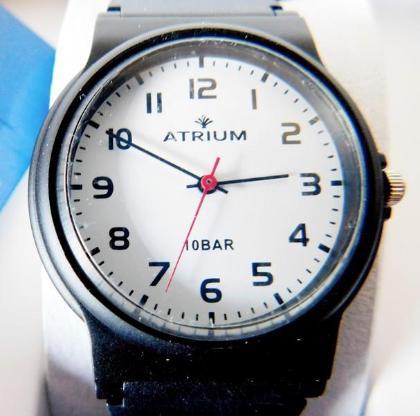 """ATRIUM""-Damen-Armbanduhr, 10 BAR, Silikonarmband, noch ungetragen, neu! - Diepholz"