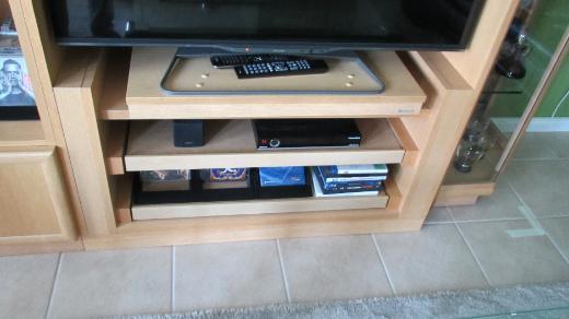 Highboard mit TV-Fach, Eiche hell - Oyten