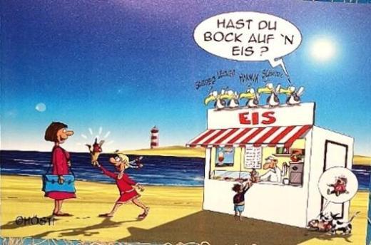 """Witziges Hösti Platzset """"Hast du Bock.."""" - für nur 2,40 € - NEUWARE - Scheeßel"""
