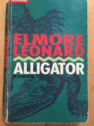 Elmore Leonard Alligator Thriller Buch Taschenbuch - Bremen