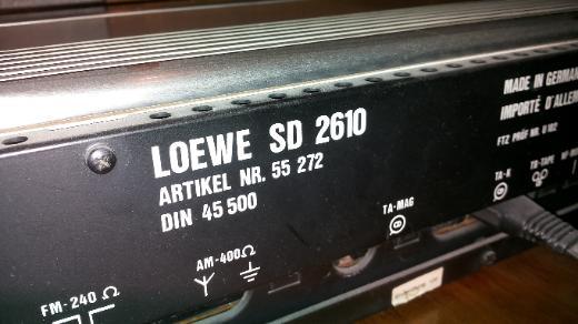 Vintage Reciever Loewe SD 2610 zu verkaufen - Bremen Osterholz